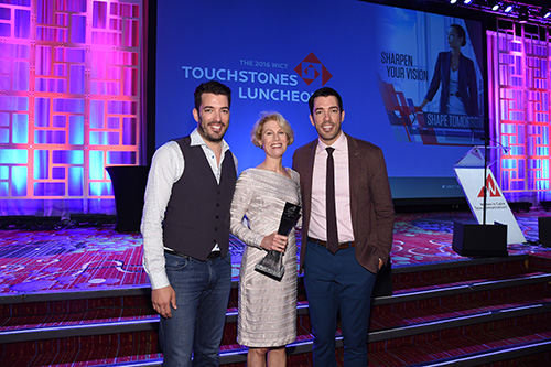 Kathleen and Property Brothers.JPG